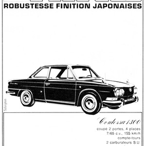 196503 L'AUTOMOBILE HINO ROBUSTESSE FINITION JAPONAISES E. Dujardin SA