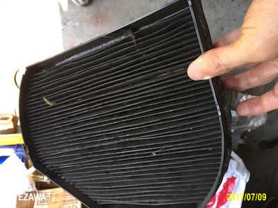 20170709 W202 Cabin Filter