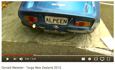 20171021 Donald Webster - Targa New Zealand 2015