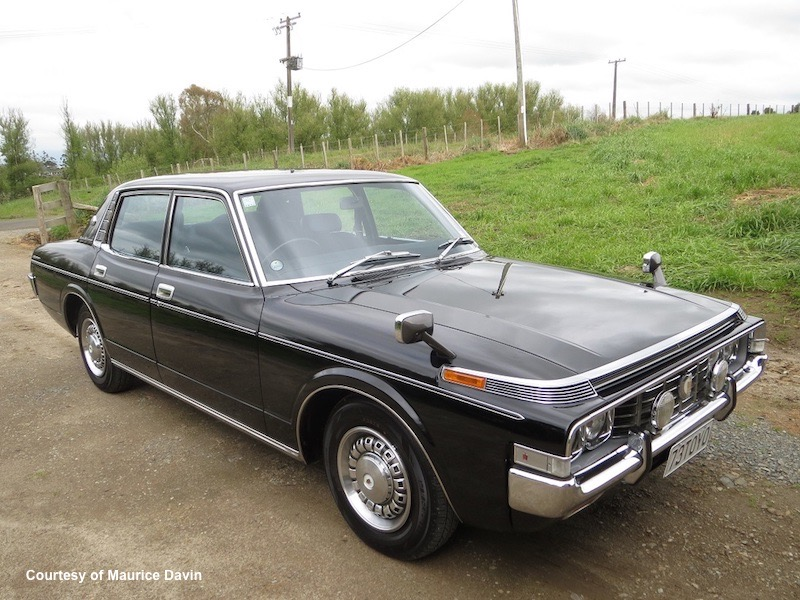 Keith's 73 Toyota Crown MS60 October 2019